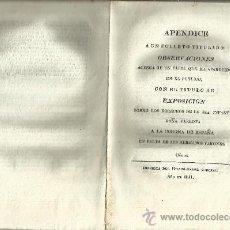 Libros antiguos: CÁDIZ. 1811. APÉNDICE.... SOBRE LOS DERECHOS DE LA SEÑORA INFANTA DOÑA CARLOTA.. Lote 32543718
