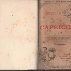 Libros antiguos: ALMANAQUE DE LA ESPAÑA MODERNA PARA EL AÑO 1892 NOVELAS Y CAPRICHOS MADRID 1892. Lote 32557343
