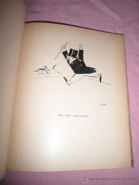 Libros antiguos: 50 NINOTS PER XAVIER NOGUES - 1º EDICION AÑO 1922 - DIBUJOS. - Foto 5 - 32557276
