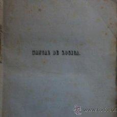 Libros antiguos: MANUAL DE LOGICA POR D.MANUEL MUÑOZ GARNICA,JAEN OCTUBRE DE 1846. Lote 32589636