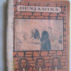 Libros antiguos: BENJAMINA. FRANCO, JOSÉ. 1926. Lote 32581035