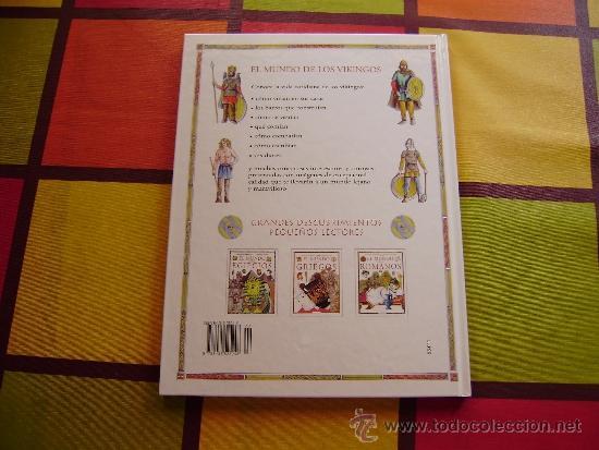 Libros antiguos: EL MUNDO DE LOS VIKINGOS - Foto 4 - 32592585