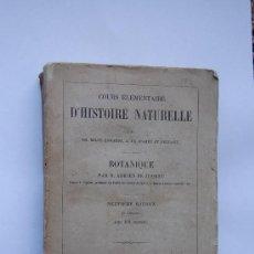 Alte Bücher - Cours Elemantaire D´Histoire Naturelle, MM Milne Edwards-et A. de Jussieu Et Beudant - 32593113