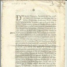Libros antiguos: SEVILLA. 1722. USO Y PRÁCTICA DE LA BOLSA DE QUIEBRAS.. Lote 32691456