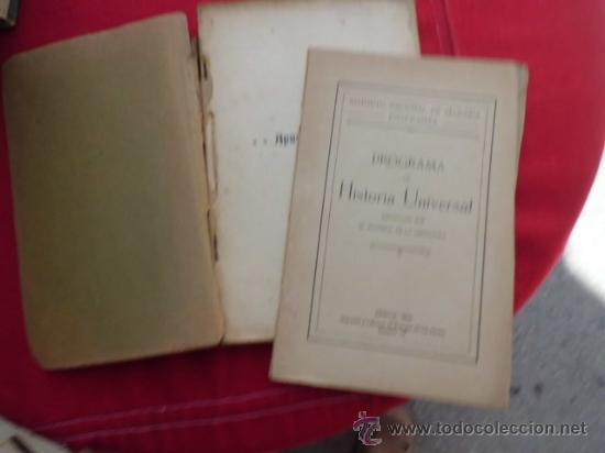 LIBRO HISTORIA MODERNA Y CONTEMPORANEA ANTONIO JAEN INCLUYE PROGRAMA 1923 Y 1924 L-1392 (Libros Antiguos, Raros y Curiosos - Ciencias, Manuales y Oficios - Otros)