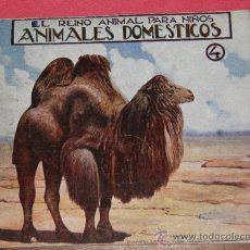 Libros antiguos: EL REINO ANIMAL PARA NIÑOS. ANIMALES DOMESTICOS 4. Lote 32745277