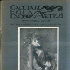 Libros antiguos: GACETA DE BELLAS ARTES Nº 284 (MARZO 1926) . Lote 32752819
