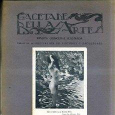 Libros antiguos: GACETA DE BELLAS ARTES Nº 310 (ABRIL 1927) . Lote 32752847