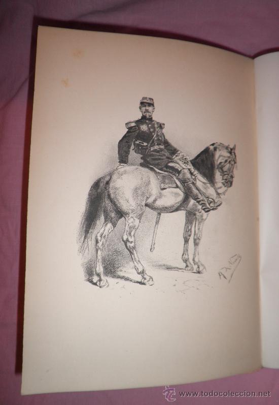 Libros antiguos: A GOLPES DE FUSIL - QUATRELLES - AÑO 1877 - BELLAS LAMINAS GRABADAS DE NEUVILLE. - Foto 4 - 32761530