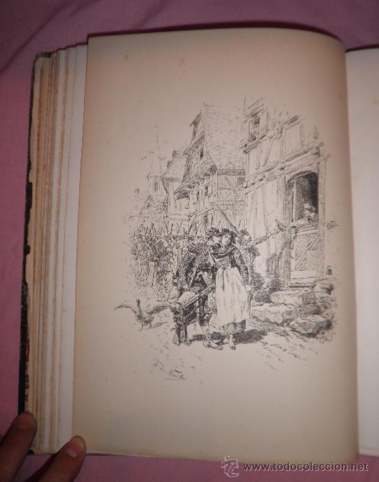 Libros antiguos: A GOLPES DE FUSIL - QUATRELLES - AÑO 1877 - BELLAS LAMINAS GRABADAS DE NEUVILLE. - Foto 5 - 32761530