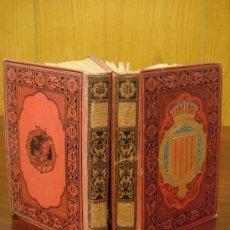 Libros antiguos: BARCELONA Y CATALUÑA.- ESPAÑA SUS MONUMENTOS Y SUS ARTES, 1.884, 2 VOLS., CORTEZO. Lote 32830741