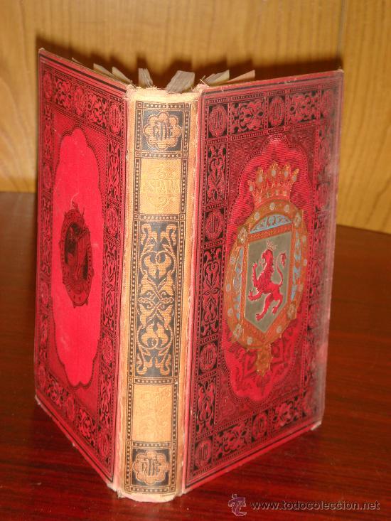 Libros antiguos: ASTURIAS-LEON.- ESPAÑA SUS MONUMENTOS Y SUS ARTES, 1.885, CORTEZO - Foto 2 - 32836038
