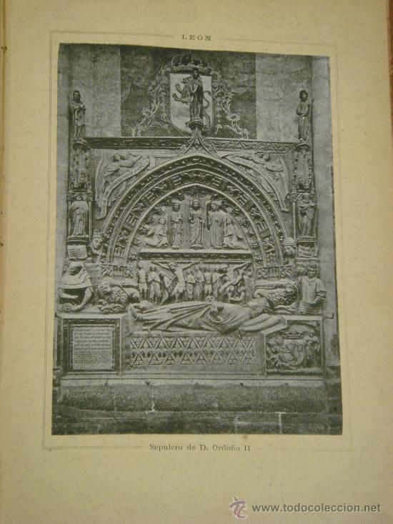 Libros antiguos: ASTURIAS-LEON.- ESPAÑA SUS MONUMENTOS Y SUS ARTES, 1.885, CORTEZO - Foto 8 - 32836038