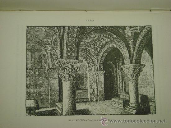 Libros antiguos: ASTURIAS-LEON.- ESPAÑA SUS MONUMENTOS Y SUS ARTES, 1.885, CORTEZO - Foto 9 - 32836038