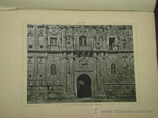 Libros antiguos: ASTURIAS-LEON.- ESPAÑA SUS MONUMENTOS Y SUS ARTES, 1.885, CORTEZO - Foto 10 - 32836038
