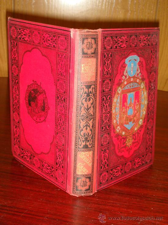 Libros antiguos: SEVILLA - CADIZ.- ESPAÑA SUS MONUMENTOS Y SUS ARTES, 1.884, CORTEZO - Foto 2 - 32836019