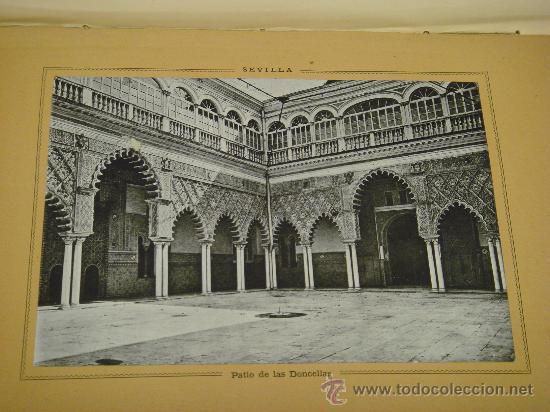 Libros antiguos: SEVILLA - CADIZ.- ESPAÑA SUS MONUMENTOS Y SUS ARTES, 1.884, CORTEZO - Foto 5 - 32836019