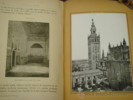 Libros antiguos: SEVILLA - CADIZ.- ESPAÑA SUS MONUMENTOS Y SUS ARTES, 1.884, CORTEZO - Foto 6 - 32836019