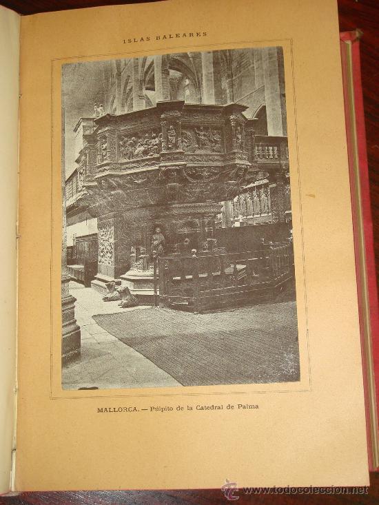 Libros antiguos: ISLAS BALEARES.- ESPAÑA SUS MONUMENTOS Y SUS ARTES, 1.888, CORTEZO - Foto 4 - 32835935