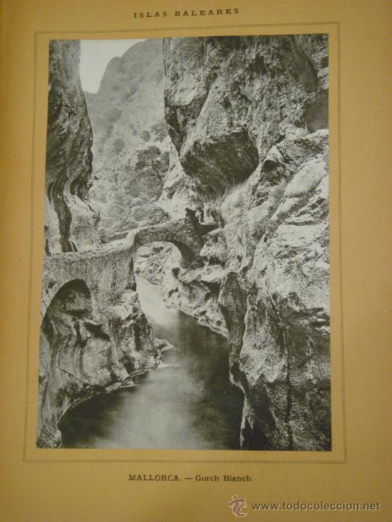 Libros antiguos: ISLAS BALEARES.- ESPAÑA SUS MONUMENTOS Y SUS ARTES, 1.888, CORTEZO - Foto 7 - 32835935
