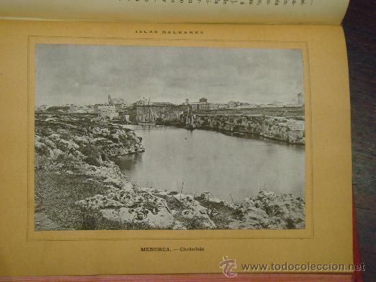 Libros antiguos: ISLAS BALEARES.- ESPAÑA SUS MONUMENTOS Y SUS ARTES, 1.888, CORTEZO - Foto 8 - 32835935