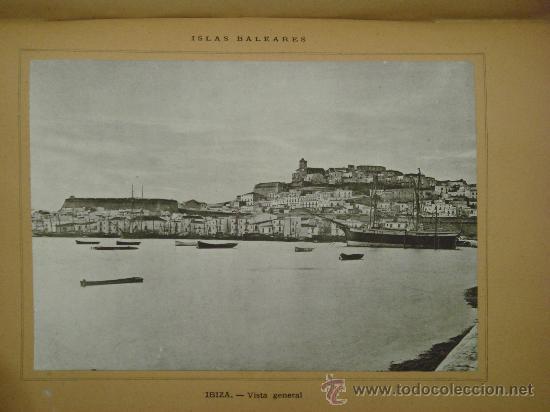 Libros antiguos: ISLAS BALEARES.- ESPAÑA SUS MONUMENTOS Y SUS ARTES, 1.888, CORTEZO - Foto 9 - 32835935