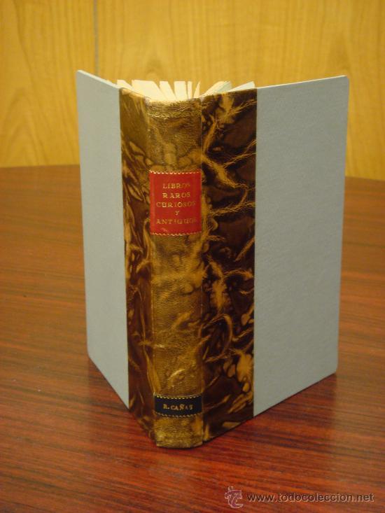 CATÁLOGO LIBRERÍA DE PEDRO VINDEL.LIBROS RAROS,CURIOSOS Y ANTIGUOS 1929. ILUSTRADO CON 169 FACSÍMILE (Libros Antiguos, Raros y Curiosos - Bellas artes, ocio y coleccionismo - Otros)