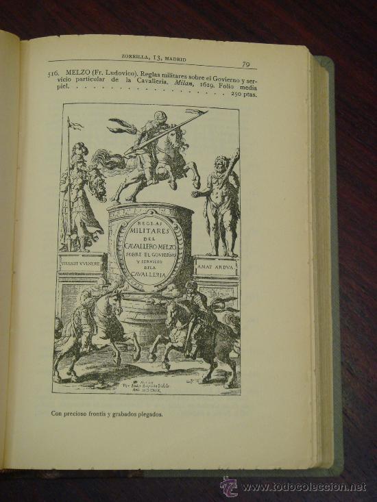 Libros antiguos: Catálogo Librería de Pedro Vindel.Libros raros,curiosos y antiguos 1929. Ilustrado con 169 Facsímile - Foto 5 - 32914682