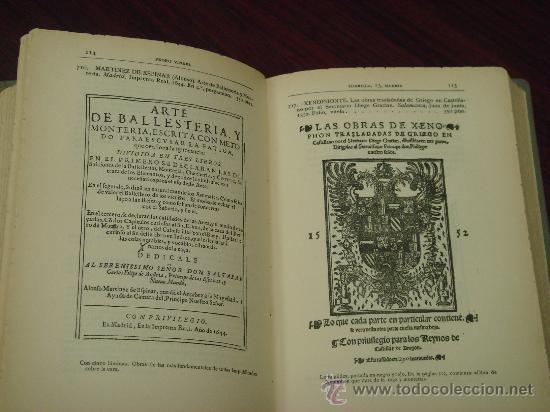Libros antiguos: Catálogo Librería de Pedro Vindel.Libros raros,curiosos y antiguos 1929. Ilustrado con 169 Facsímile - Foto 6 - 32914682