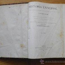Libros antiguos: HISTORIA UNIVERSAL GUILLERMO ONCKEN TOMO II OCASIÓN. Lote 32923785
