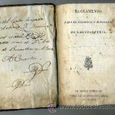 Libros antiguos: REGLAMENTO PARA EL EXERCICIO Y MANIOBRAS DE LA INFANTERIA A-CA-1594. Lote 32986309