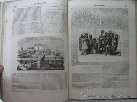 Libros antiguos: historia general de españa tomo I, juan de mariana, 1852 ,ref GRABADOS - Foto 11 - 33007210