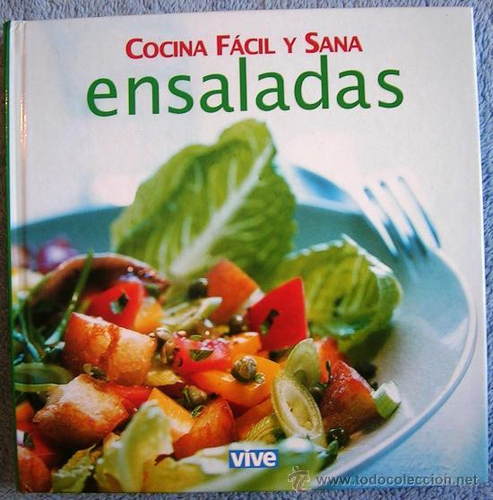 Ensaladas Cocina Facil Y Sana Recetas De Co Comprar Libros