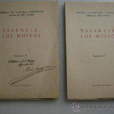 Libros antiguos: VALENCIA:LOS MUSEOS (DOS TOMOS).182. Lote 33101922