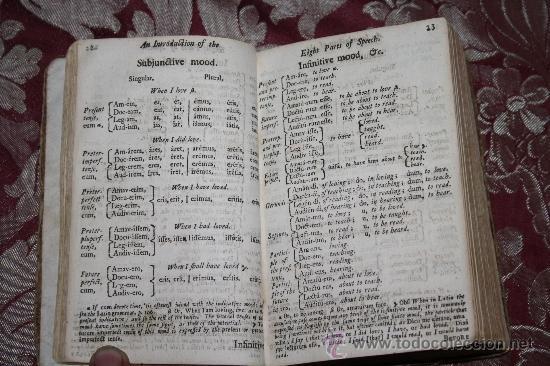 Libros antiguos: 1875- ANTIGUO Y CURIOSO LIBRO DE GRAMÁTICA QUE CONTIENE 3 TOMOS EN 1 VOLUMEN, DE 1739 - Foto 4 - 33104360