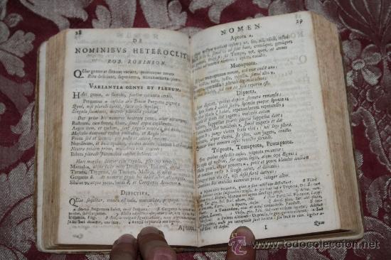 Libros antiguos: 1875- ANTIGUO Y CURIOSO LIBRO DE GRAMÁTICA QUE CONTIENE 3 TOMOS EN 1 VOLUMEN, DE 1739 - Foto 6 - 33104360