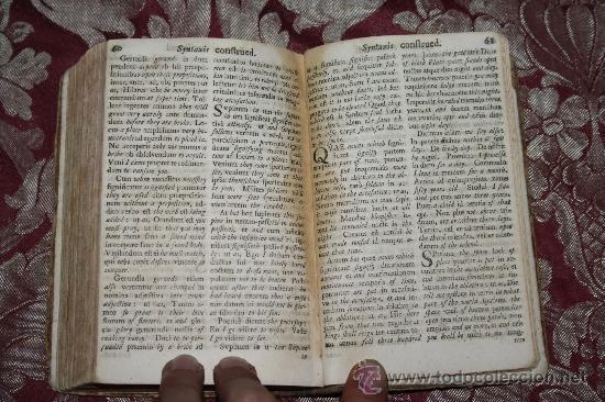 Libros antiguos: 1875- ANTIGUO Y CURIOSO LIBRO DE GRAMÁTICA QUE CONTIENE 3 TOMOS EN 1 VOLUMEN, DE 1739 - Foto 8 - 33104360