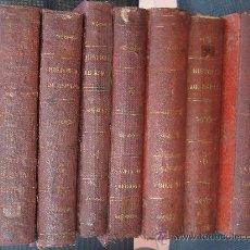 Libros antiguos: 1870 CA. HISTORIA GENERAL DE ESPAÑA Y SUS INDIAS. VICTOR GEBHARDT. 7 TOMOS. COMPLETA. OCASION. Lote 33145082