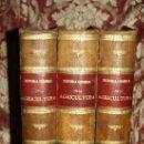 Libros antiguos: 1355- 'HISTORIA GENERAL DE LA AGRICULTURA' ESTUDIO TEÓRICO Y PRÁCTICO 3 TOMOS 18?? EDITOR JAIME SEIX. Lote 33155661