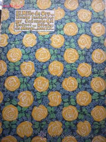 CONSUELO Y MARGA GIL ROESSET.EL NIÑO DE ORO, 1920. ( JUAN RAMÓN JIMENEZ).RARÍSIMO (Libros Antiguos, Raros y Curiosos - Ciencias, Manuales y Oficios - Otros)