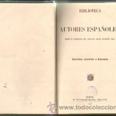 Libros antiguos: BIBLIOTECA DE AUTORES ESPAÑOLES. TOMO III: NOVELISTAS ANTERIORES A CERVANTES (A-LESP-443). Lote 33284995