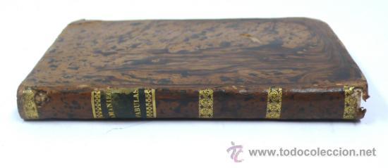 Libros antiguos: fábulas en verso castellano para uso de las escuelas. F. M. Samaniego. Tomo 1. año 1840 - Foto 2 - 33342643