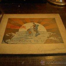 Libros antiguos: ATLAS HISTORICO UNIVERSAL, J.F. AMADOR DE LOS RIOS, 19 LAMINAS. Lote 33530821