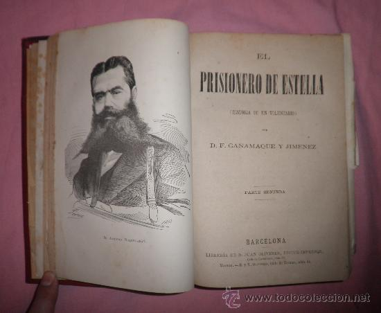Libros antiguos: EXCEPCIONAL CONJUNTO OBRAS SOBRE LAS GUERRAS CARLISTAS - AÑOS 1870 - GRABADOS. - Foto 2 - 33532650