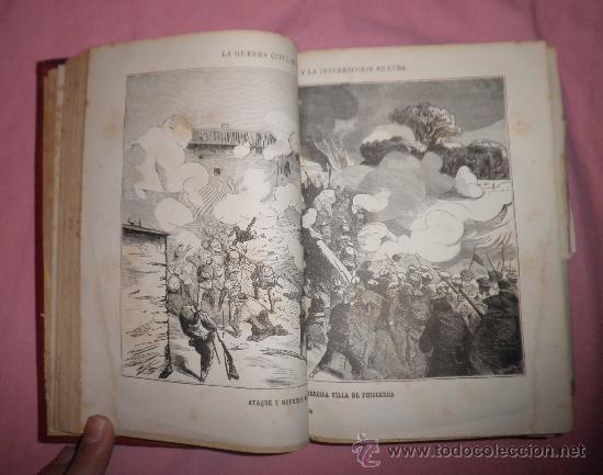 Libros antiguos: EXCEPCIONAL CONJUNTO OBRAS SOBRE LAS GUERRAS CARLISTAS - AÑOS 1870 - GRABADOS. - Foto 3 - 33532650