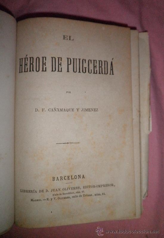 Libros antiguos: EXCEPCIONAL CONJUNTO OBRAS SOBRE LAS GUERRAS CARLISTAS - AÑOS 1870 - GRABADOS. - Foto 4 - 33532650