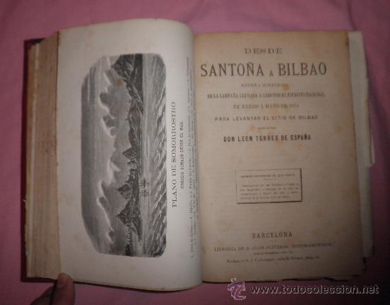 Libros antiguos: EXCEPCIONAL CONJUNTO OBRAS SOBRE LAS GUERRAS CARLISTAS - AÑOS 1870 - GRABADOS. - Foto 5 - 33532650