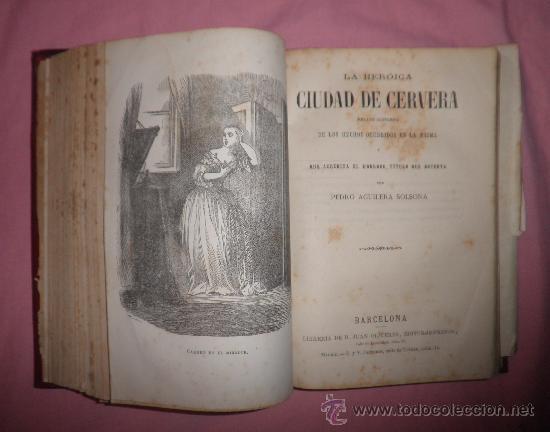 Libros antiguos: EXCEPCIONAL CONJUNTO OBRAS SOBRE LAS GUERRAS CARLISTAS - AÑOS 1870 - GRABADOS. - Foto 6 - 33532650