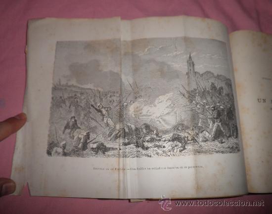 Libros antiguos: EXCEPCIONAL CONJUNTO OBRAS SOBRE LAS GUERRAS CARLISTAS - AÑOS 1870 - GRABADOS. - Foto 11 - 33532650
