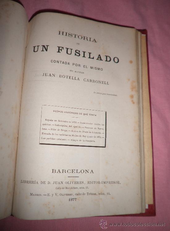 Libros antiguos: EXCEPCIONAL CONJUNTO OBRAS SOBRE LAS GUERRAS CARLISTAS - AÑOS 1870 - GRABADOS. - Foto 12 - 33532650